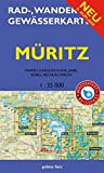 Rad-, Wander- und Gewässerkarte Müritz: Mit Waren, Kagow, Klink, Jabel, Röbel, Rechlin und Mirow. Doppelkarte. Maßstab 1:35.000. Wasser- und reißfest. ... / Rad-, Wander- und Gewässerkarten, 1:35.000) -