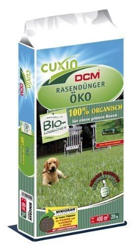 Cuxin Bio Rasendünger Öko, 20 kg - 20 20 20 Bio-dünger