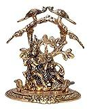 #5: Radha Krishna Idol,Radha Krishna Statue Sculpture,Lucky Figurine House Warming Gift & Home Decor Congratulatory,Ultimate Gift Item,Pooja Article