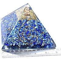Pyramid Lapis Lazuli 5 inch Orgonite Gemstone Chakra Balancing Reiki Healing + 1 Green Aventurine Pointer pendant preisvergleich bei billige-tabletten.eu