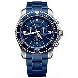 Victorinox Swiss Army Men's Quartz Watch Chronograph Display and Plastic Strap 241690