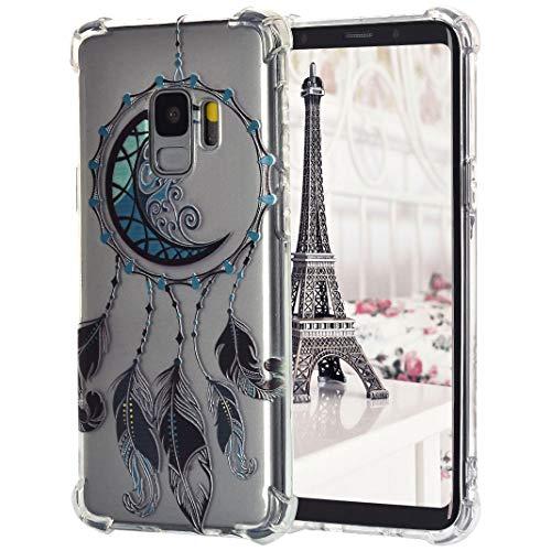 Für Samsung Galaxy S9 TPU-Hülle, Gemalter Druckstil Stoßfest Staubdicht Drop Resistance Flexibel Transparente Silikon-Stoßfänger- Fälle Für Samsung Galaxy S9, Stil 3 - 3-stil-fall