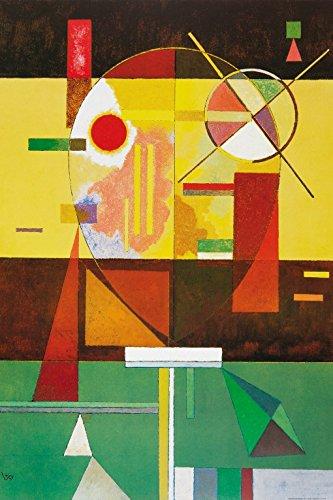 Wassily Kandinsky - Tensione Disintegrata, 1930 Carta da Parati Adesiva (180 x 120cm)