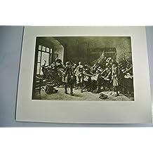Kunstdruck: Der Fenstersturz zu Prag, 23. Mai 1618. Aus: An Ehren und an Siegen reich. Bilder aus Österreichs Geschichte.