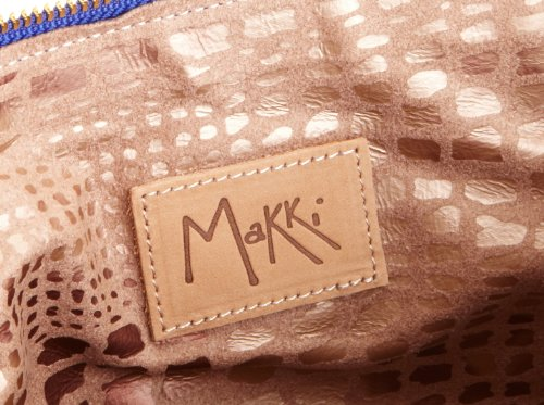 Makki the Ipad Grab, Pochette Unisex-Adulto Blu  (Electric Blue)