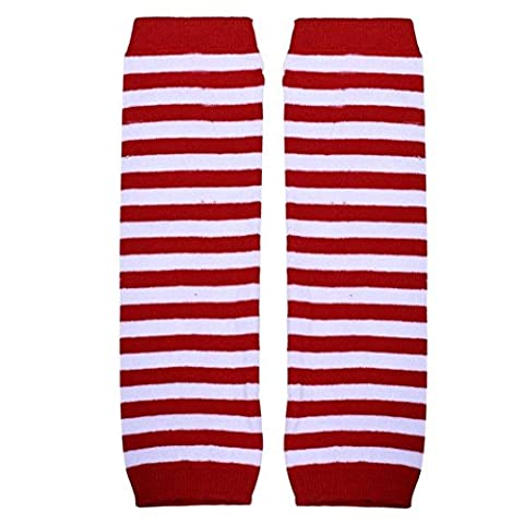 Knieschoner Baby Mädchen Kolylong Kinder Bunt Socks Leg Warmer Beinwärmer (F4) (Kniehohe Slippers)