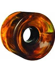 GLOBE Bantam Swirl - Rueda de skateboard, color multicolor, talla Talla única