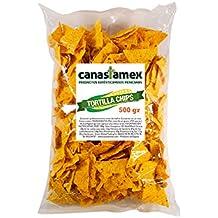 Totopos/nachos de maíz 500gr