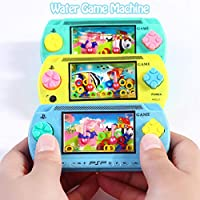 Awtang Toys Handheld Water Game,Water Handheld Game Console Ring Toss Puzzle Machine Toy Gift Colorful Arcade Video Mini Retro Pastime Game for Kids and Adults benchmark