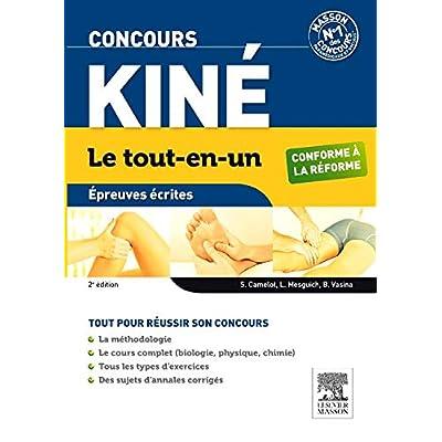 Concours Kiné Le tout-en-un Épreuves écrites