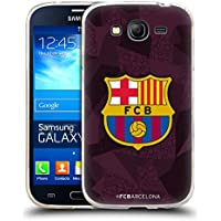 Official FC Barcelona Third 2017/18 Crest Kit Soft Gel Case for Samsung Galaxy Grand Neo