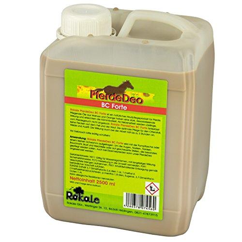 Rokale BremsenClean 2500 ml - PferdeDeo BC Forte - Fliegen,- Kriebel- und Mückenschutz
