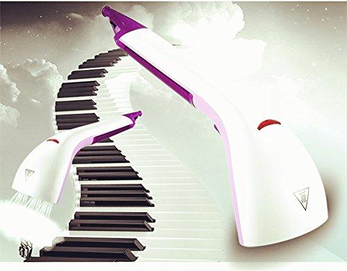 Handheld Garment Steamer, HomeYoo Schnelle Aufheizen 1000 Watt Leistungsstarke Kompakte Tragbare Kleidung Dampfbügeleisen mit Pinsel, Reise Haushalt Mini Hochdruck (Purple)