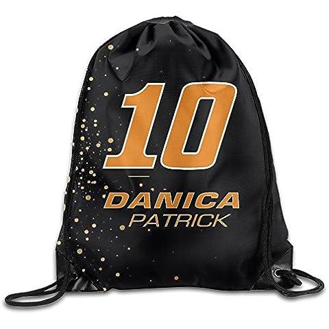 Canace Danica Patrick # 10sacchetti in Sport all' aria aperta con coulisse zaino, White, taglia unica