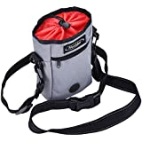 Mudder Dog Treat Training Bag with Adjustable Reflective Belt for Treats Toys or Poop Bag Dispenser