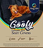 Goofy Tails Heavy Duty Hammock Waterproof Scratch Proof Car Seat Interior Cover For