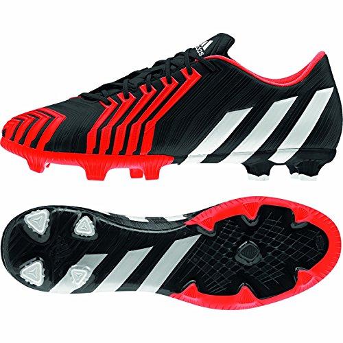 adidas - Predator Instinct Firm Ground, Scarpe da calcio da uomo core black/ftwr white/solar red