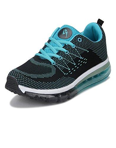 Yepme Men's Black Mesh Sports Shoes