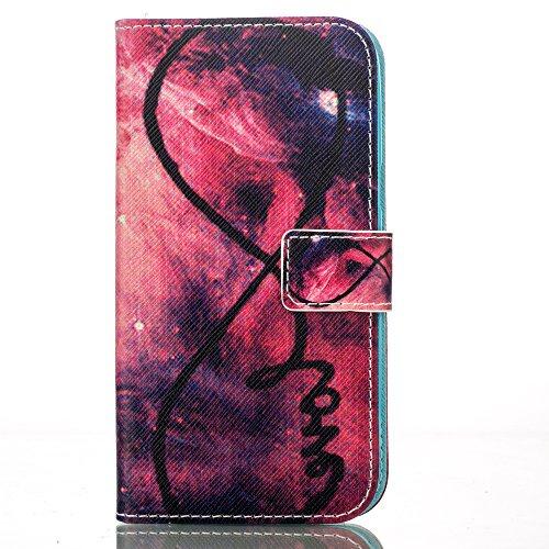PU für Apple iPhone 6 Plus (5.5 Zoll) Hülle,Geprägte Campanula Handyhülle / Tasche / Cover / Case für das Apple iPhone 6 Plus (5.5 Zoll) iphone 6S Plus PU Leder Flip Cover Leder Hülle Kunstleder Folio 4
