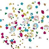 Decorazione a Tema Unicorno - Compleanno Ragazza | Coriandoli Unicorno 34 g | Compleanno Bambina | Coriandoli Colorati Favola