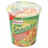 Knorr Snack-Bar Kartoffelpüree mit Röstzwiebeln&Croutons - 1 x 53 g