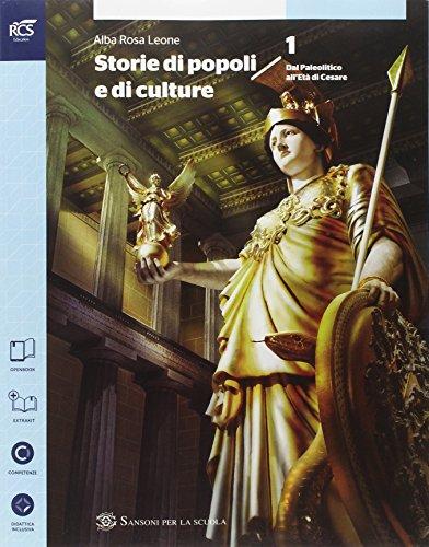 Storia di popoli e culture. Con atlante. Per le Scuole superiori. Con espansione online: 1