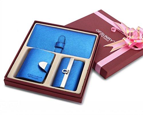 Eysee, Borsetta da polso donna Oro nero 18,5cm*9cm Blu marino
