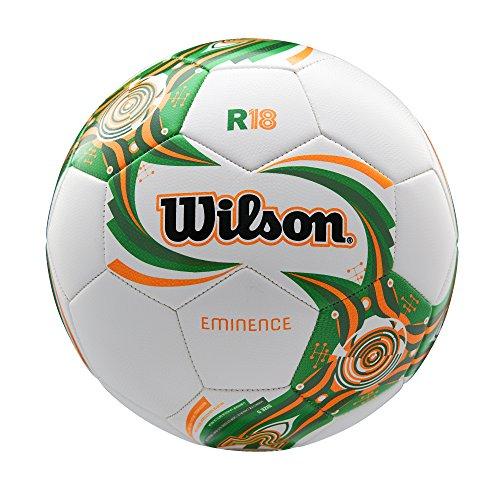 Wilson, Fußball, WM18 Design, Irland, Offizielle Größe 5, Eminence, WTE0118XB13 Wilson Fußball Grün