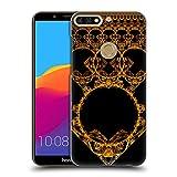 Head Case Designs Offizielle Sven Fauth Gold Maori Ruckseite Hülle für Huawei Honor 7C/Enjoy 8