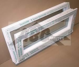 Kunststofffenster kellerfenster salamander 90x40 cm b x h for Fenster 90x40