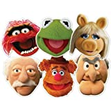 The Muppets Party - Muppets Character Face Masks x 6