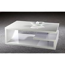 Design Couchtisch Wohnzimmer Hochglanz Cube Florenz