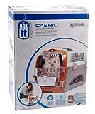 Catiti Pet Cargo Cabrio, Transportbox, weiß-grau-orange -