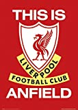 "GB eye ""Liverpool, This is Anfield"" Maxi Poster, Multi-Colour, 61 x 91.5 cm"