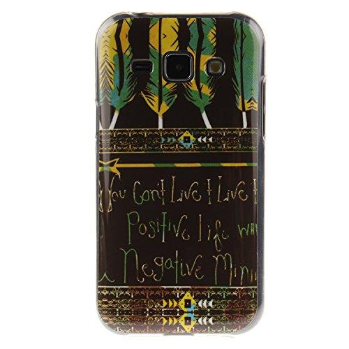 BONROY ® Coque pour Samsung Galaxy J1(4,3 Zoll (10,9 cm),Housse en cuir pour Samsung Galaxy J1(4,3 Zoll (10,9 cm),imprimé étui en cuir PU Cuir Flip Magnétique Portefeuille Etui Housse de Protection Coque Étui Case Cover avec Stand Support Avec des Cartes de Crédit Slot et Fonction Support pour Samsung Galaxy J1(4,3 Zoll (10,9 cm)