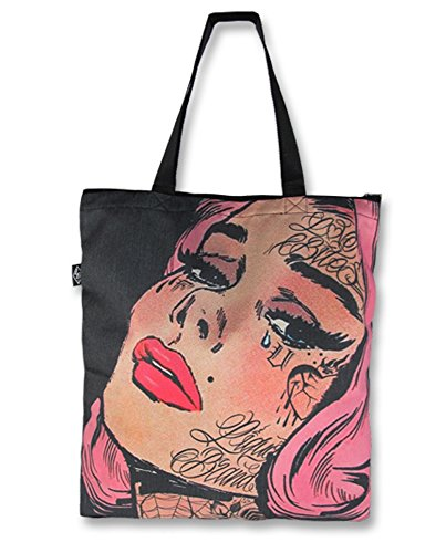 Liquor Brand - Shopper Tasche - Sad Girl (Up Pin Girl Geldbörsen)