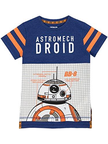 Star Wars Jungen BB8 T-Shirt (Star Wars Kinder T Shirts)