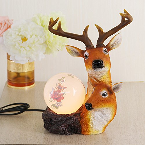 XYD-Ornamenti di modo strano cervo nuova modellazione luci regali di artigianato creativo Magic Ball - Nuova Casa Di Vetro Ornamento