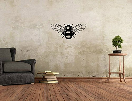 wandaufkleber 3d schlafzimmer Vinyl Art Mural Wall Quote Saying Stickers Decals Home Decor Bumble Bee
