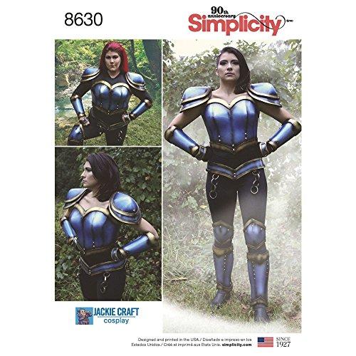 osplay Armor-16-18-20-22-24 (Cosplay Rüstung Kostüme)