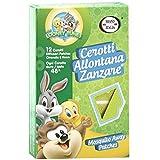 12 Cerotti allontana zanzare neonati e bambini antizanzare baby looney Tunes