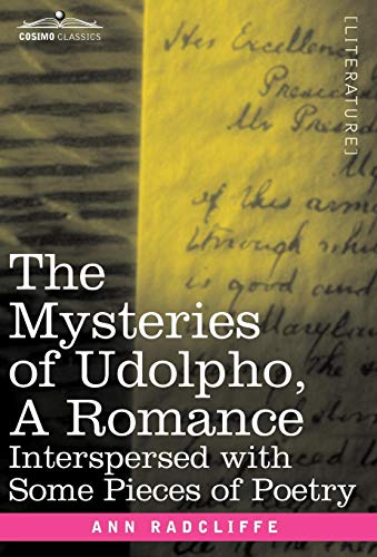 The Mysteries of Udolpho, a Romance Cover Image