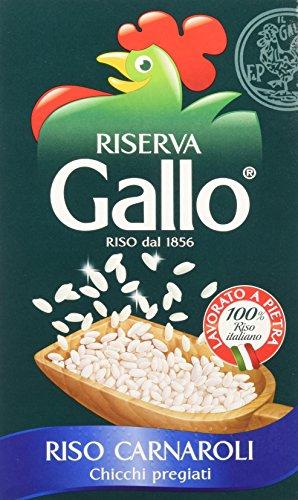Gallo - riso carnaroli, chicchi pregiati - 2 confezioni da 1 kg [2 kg]