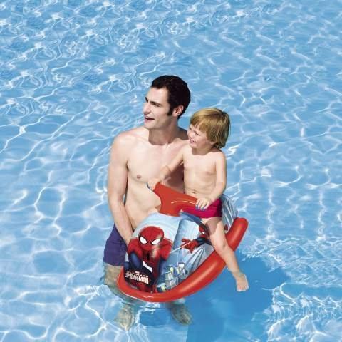 Moto de agua hinchable 89x 46cm Spiderman Playa Piscina Idea regalo bes273