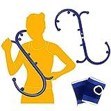 Triggerpunkt Massagegerät, Bchoice Rückenmassagegerät Manuell Abnehmbar für Nacken Schulter Rücken Hüfte Beine Füß