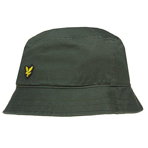Lyle & Scott Cotton Twill Herren Bucket Hat Grün