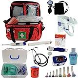 Notfalltasche Pulox Erste Hilfe Tasche gefüllt inkl. Pulsoximeter PO-100