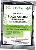 #9: Black Henna Hair Color - 100% Organic and Chemical Free Henna for Hair Color Hair Care - ( 60 Gram = 1 Packet)