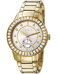 Esprit Damen-Armbanduhr Seren Analog Quarz Edelstahl ES107422004