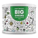 Big Greens Superfood Pulver - 28 Superfoods harmonisch kombiniert u.a. Gerstengras, OPC, Acerola, Reishi, Chlorella, Hanfprotein - vegan, frei von Laktose & Soja – HERGESTELLT IN DEUTSCHLAND